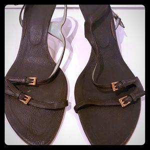 Sigerson Morrison sandals with kitten heel